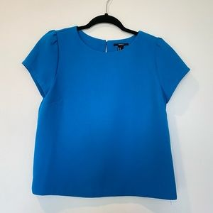 Forever 21 electric blue boxy top